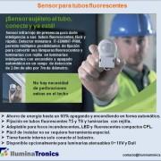1-2 Sensor para tubo fluorescente