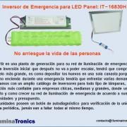 5-2 inversor de emergencia para  led panels