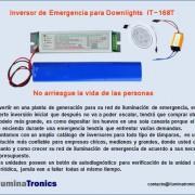 6-2 Inversor de emergencia para  downlights