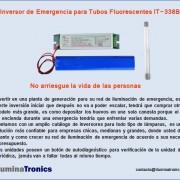 7-2 inversor de emergencia para tubo Fluorescente