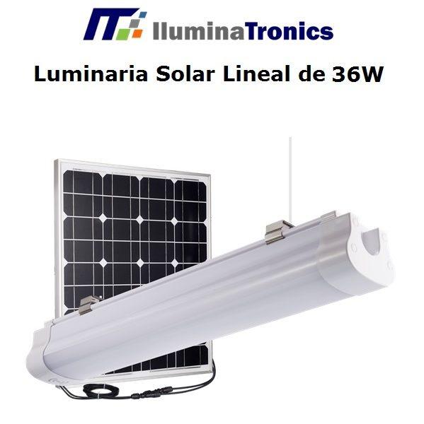 2. Luminaria lineal 36W