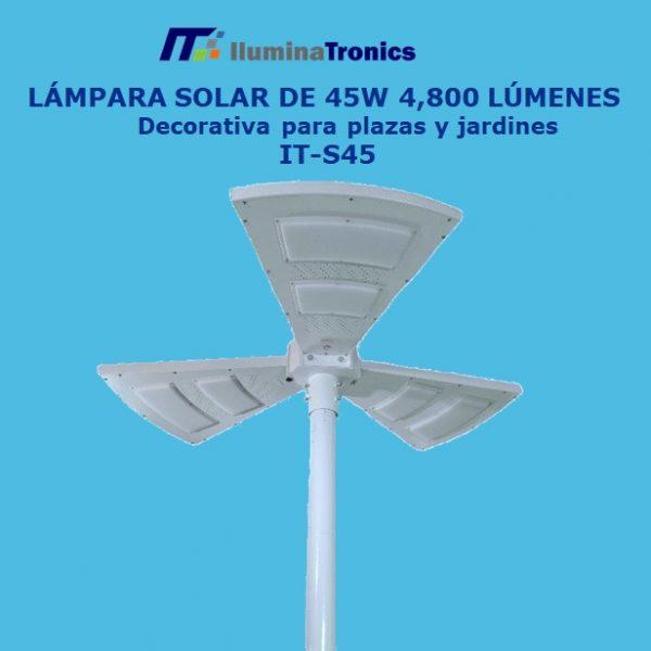 0. lampara Solar S45