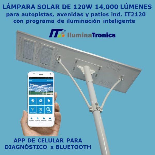 0. Luminaria solar para Carreteras