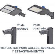 1. reflectores 2